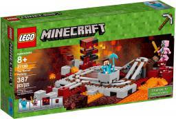LEGO MINECRAFT Linia kolejowa w Netherze (21130)