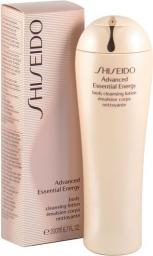 SHISEIDO Advanced Essential Energy Body Cleansing Lotion Emulsja oczyszczająca do mycia ciała 200 ml