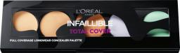 L'Oreal Paris Infallible Total Cover Concealer Palette paleta korektorów do twarzy 10g