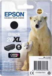 Epson oryginalny tusz T262140, 26XL, black, 12.2ml (C13T26214022)