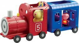 Tm Toys Pociąg Peppy z wagonikiem + figurki (06152)