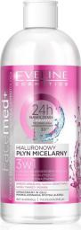 Eveline FACEMED+ Płyn miceralny hialuronowy 3w1 400ml