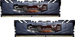 Pamięć G.Skill Flare X, DDR4, 16 GB, 3200MHz, CL14 (F4-3200C14D-16GFX)