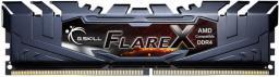 Pamięć G.Skill Flare X, DDR4, 16 GB,2400MHz, CL16 (F4-2400C16D-16GFX)