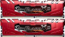 Pamięć G.Skill Flare X, DDR4, 32 GB,2400MHz, CL15 (F4-2400C15D-32GFXR)