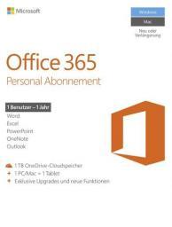 Microsoft Office 365 Personal DE (QQ2-00538)
