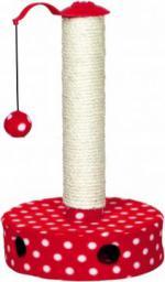 Trixie Drapak z piłką śr.27 × 45 cm czerwony