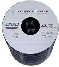 Esperanza DVD+R/100/Rulon 4.7GB 16x