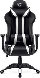 Fotel Diablo Chairs X-One Czarno-biały