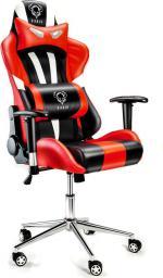 Fotel Diablo Chairs X-Eye Czarno-czerwony