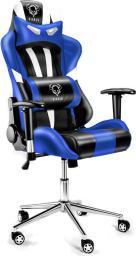 Fotel Diablo Chairs Diablo X-Eye Czarno-niebieski
