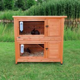 Klatka dla królików 'Natura' ,2 piętrowa,116×111×65 cm
