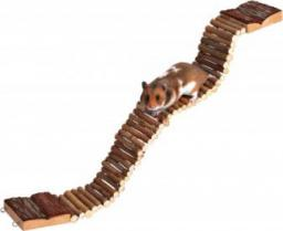 Trixie Most wiszący dla gryzoni, drewniany, 7 × 55 cm