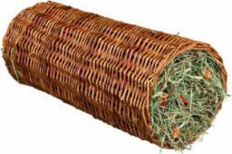 Trixie TUNEL WIKLINOWY Z SIANEM DLA ŚWINKI MORSKIEJ 15 × 33 cm, 110 g