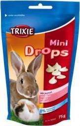 Trixie Dropsy dla gryzoni jogurtowe, 75g