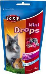 Trixie Dropsy dla gryzoni jagodowe-75 g