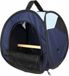 Trixie Torba transportowa dla ptaków, 27 × 32 × 27 cm, ciemnoniebieska/jasnoniebieska