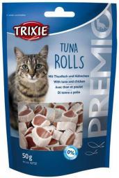 """Trixie Przekąski PREMIO """"rolki z tuńczykiem"""", 50 g"""