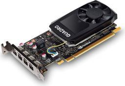Karta graficzna PNY Technologies Quadro P1000 4GB GDDR5 (VCQP1000DVI-PB)