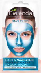 Bielenda Blue Detox Detoksykująca maseczka do cery suchej i wrażliwej 8g