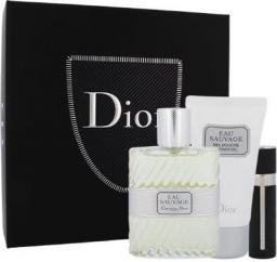 Christian Dior Eau Sauvage Zestaw dla mężczyzn