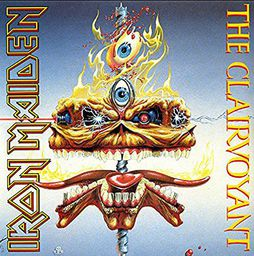 Rock Iron Maiden The Clairvoyant (7') - Limited