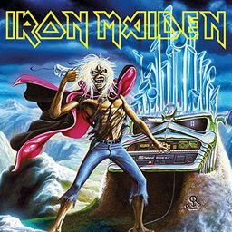 Rock Iron Maiden Run To The Hills - Live (7') - Limited