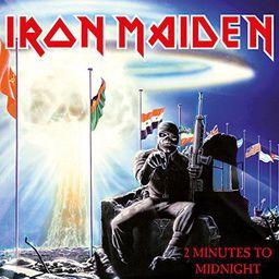 Rock Iron Maiden 2 Minutes To Midnight (7') - Limited