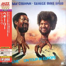 Jazz Cobham, Billy & George Duke Band Live On Tour In Europe