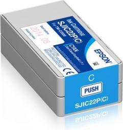 Epson Tusz C33S020602  SJIC22P (Cyan)