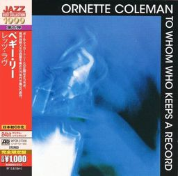 Jazz Coleman, Ornette To Whom Who Keeps A Record
