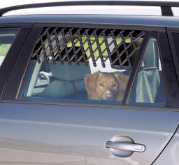 Trixie Kratka do samochodu duża czarna
