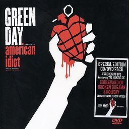 POP GREEN DAY AMERICAN IDIOT(SPEC.EDIT) (CD + DVD)