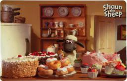 Trixie Podkładka pod miski Shaun Bakery, 44 × 28 cm, fotomotyw