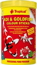 Tropical Koi&Goldfish Colour Sticks - worek 1000 ml/90 g