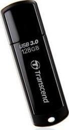 Pendrive Transcend JetFlash 700 128GB, USB3.0, czarny (TS128GJF700)