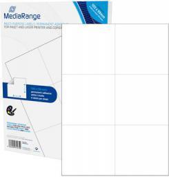 MediaRange Etykiety białe 105x99mm 300 sztuk (MRINK144)