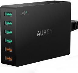 Ładowarka Aukey 6xUSB Quick Charge 3.0 60W (PA-T11)