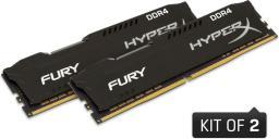 Pamięć HyperX Fury, DDR4, 16 GB,2666MHz, CL16 (HX426C16FB2K2/16)