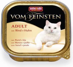 ANIMONDA  Vom Feinsten ADULT CAT Wołowina i Kurczak 100g