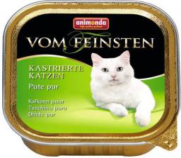 ANIMONDA  vom Feinsten Castrated Cats z Indykiem 100g