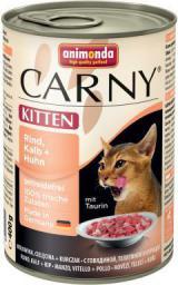 ANIMONDA  CARNY Kitten Cielęcina i kurczak 400g