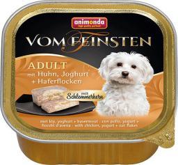 ANIMONDA  PIES 150g Vom Feinsten ADULT Drób, jogurt, płatki owsiane