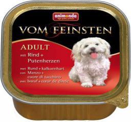 ANIMONDA  vom Feinsten Classic Wołowina z sercami indyczymi 150g