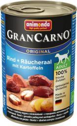 ANIMONDA  Grancarno Adult węgorz wędzony + ziemniaki 400g
