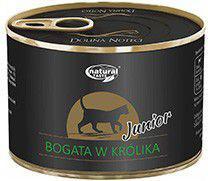 Łuków Natural Taste Junior Bogata w Królika puszka - 185g