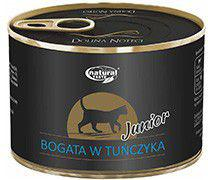 Łuków Natural Taste Junior Bogata w Tuńczyka puszka - 185g