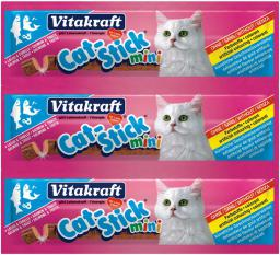 VITAKRAFT  CAT STICK MINI ŁOSOŚ+PSTRĄG