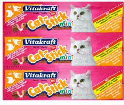 VITAKRAFT  CAT STICK MINI INDYK+JAGNIĘCINA