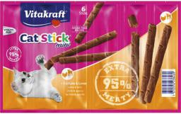 VITAKRAFT  CAT STICK MINI INDYK+JAGNIE